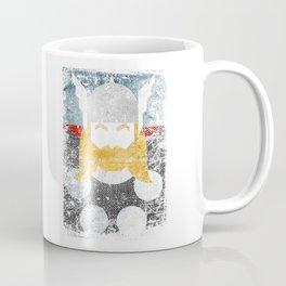 God of thunder grunge superhero Coffee Mug