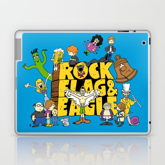 Rock, Flag & Eagle Laptop & iPad Skin