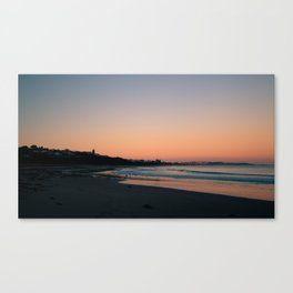 Sunset in Encounter Bay Canvas Print