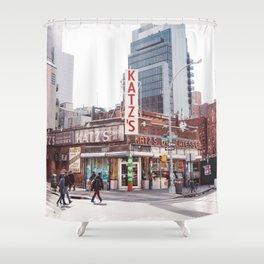 Katz IV Shower Curtain