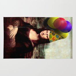 Mona Lisa Birthday Girl Rug