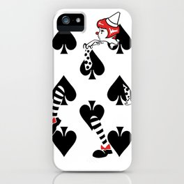 Sawdust Deck: The 8 of Spades iPhone Case
