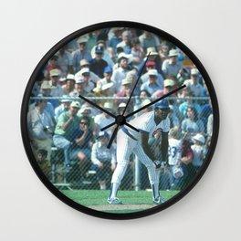 Joe Carter : First Base / Outfield : Cubs : Spring Training 1984 : Vintage Baseball Photograph Wall Clock