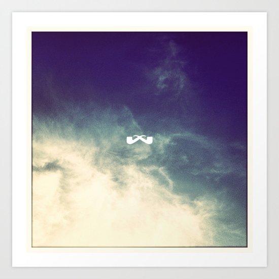 Aerial Haze. Art Print