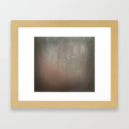 Abstract Textured Black and Red  Framed Art Print