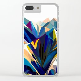 Mountains cold Clear iPhone Case