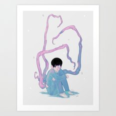 Pastel Cannibal Art Print