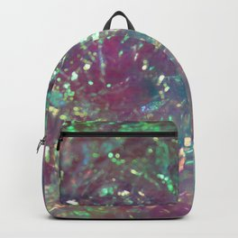 Iridescent Cellophane Backpack
