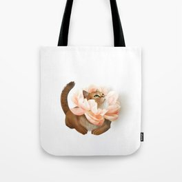 The king of flowers Tote Bag