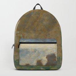 Georges Seurat - Haystacks Backpack