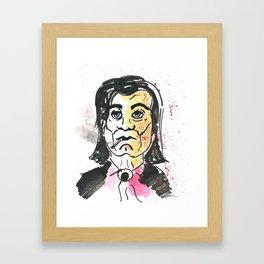 Vincent Vega Framed Art Print