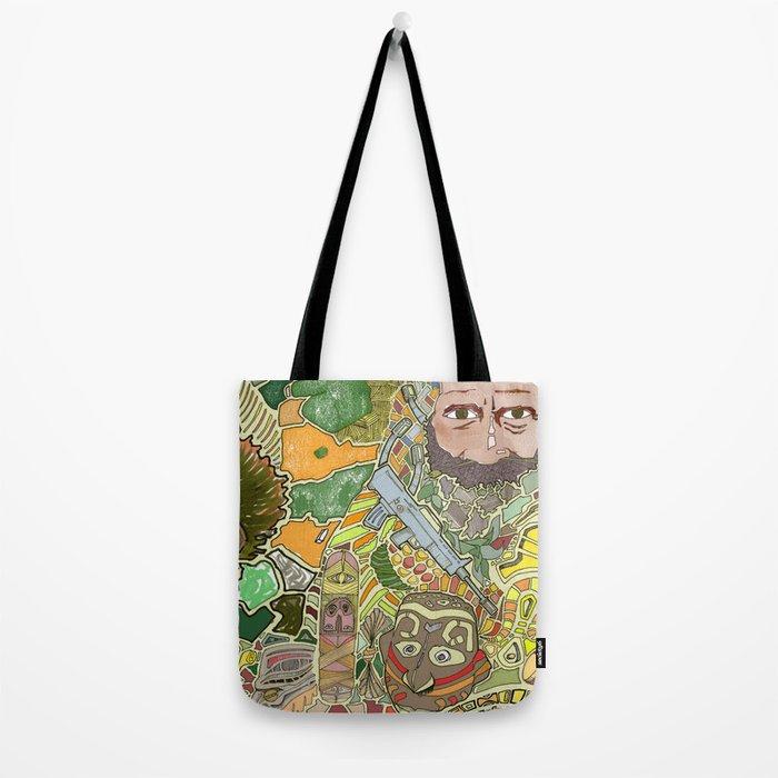 Tribal Three Tote Bag