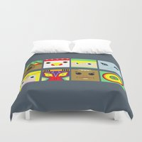 zelda Duvet Covers featuring ZELDA GAME by pipocaVFX