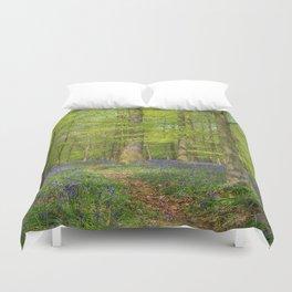 Woodland Bluebells Duvet Cover
