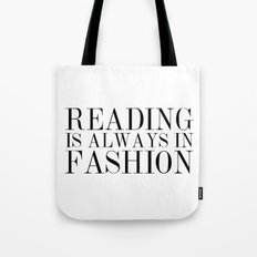 Reading is Always in Fashion Tote Bag