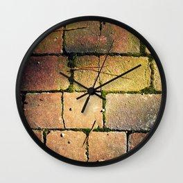 A Firm Foundation Wall Clock