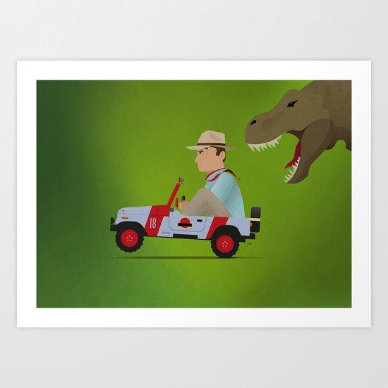 Jurassic Park Art Print