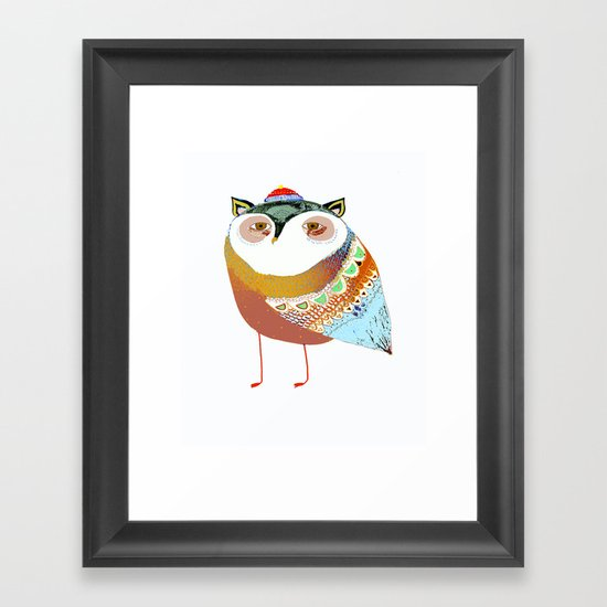 The Sweet Owl Framed Art Print