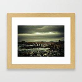 norwegian Scenic Routes - Atlanterhavsvegen Framed Art Print