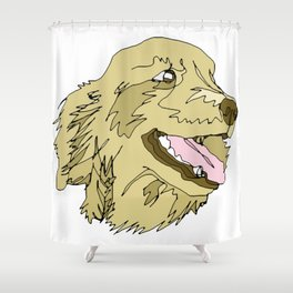 Golden Days Shower Curtain