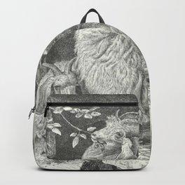 Vintage Goat Backpack