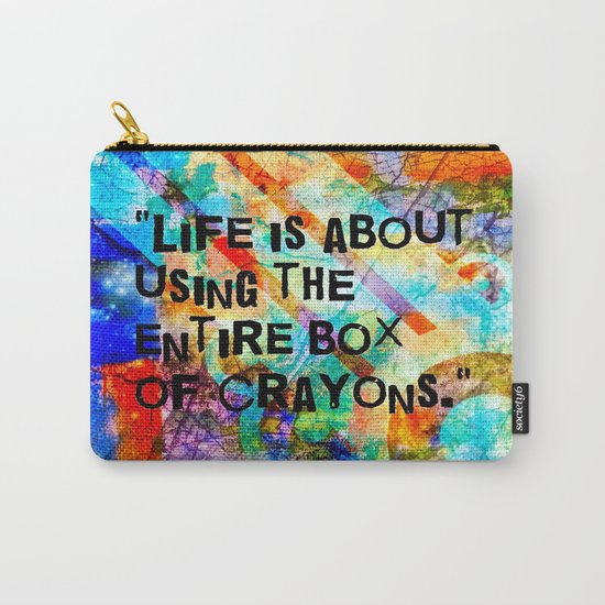 Crayon Box 2 Carry-All Pouch