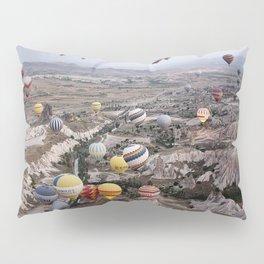 Air Ballons, Cappadocia, Turkey. Pillow Sham