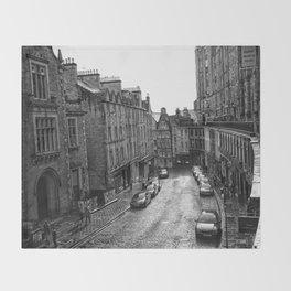 Victoria Street Throw Blanket