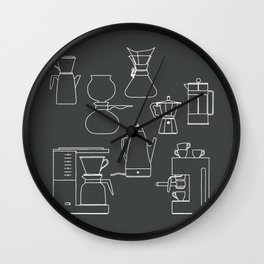 coffee makers Wall Clock