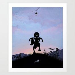 Hulk Kid Art Print