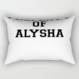 Property of ALYSHA Rectangular Pillow