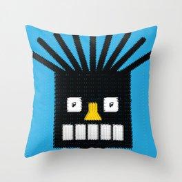 Face Throw Pillow