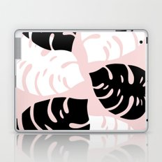 Palm Leaves on Pink Laptop & iPad Skin