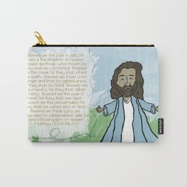 Beatitudes Carry-All Pouch