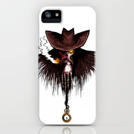 Charon, boatman of the dead iPhone Case