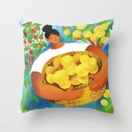 La Limonera Throw Pillow