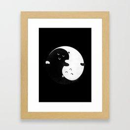 Death Can't Do Us Apart Framed Art Print