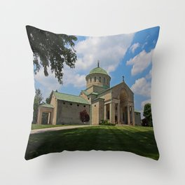 Calvary Cemetery I Throw Pillow