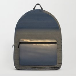 Watching the sunrise Backpack