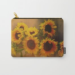 Sunflower Reflections Carry-All Pouch