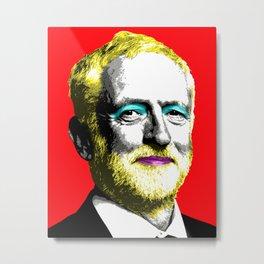 Marilyn Corbyn - Red Metal Print