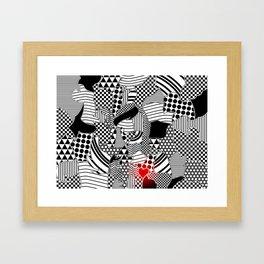 love line Framed Art Print