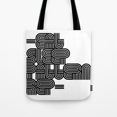 Eat Sleep Pattern Repeat Repeat Repeat Tote Bag