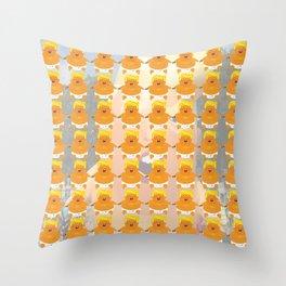 Baby Trump Throw Pillow