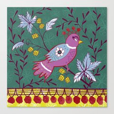 Bird Folk Canvas Print