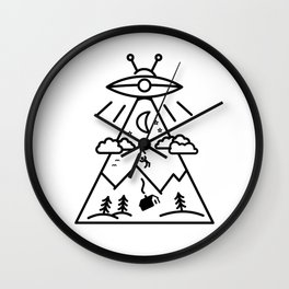 They Want Us Wall Clock