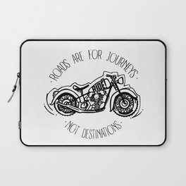 Roads are for Journeys Laptop Sleeve
