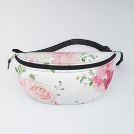Pink Floral Fanny Pack