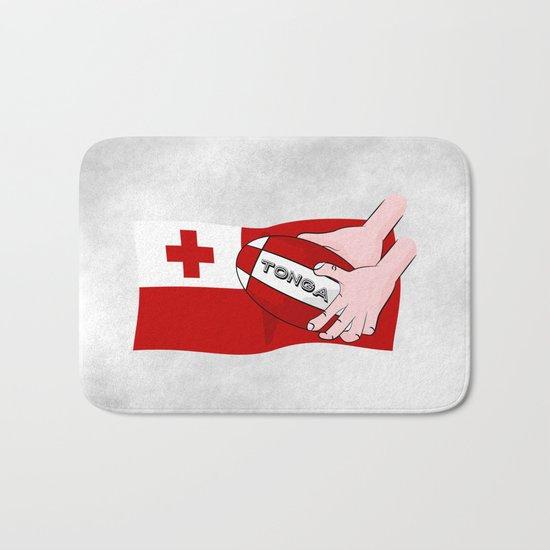 Tonga Rugby Flag Bath Mat