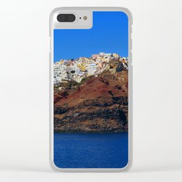 Santorini 22 Clear iPhone Case